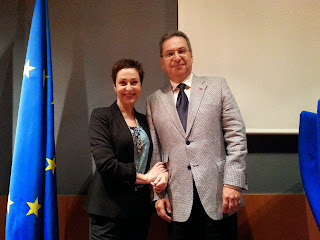 IX Jornadas de Protocolo. UNED Madrid 2015. Leonardo Montaño y Olga Casal
