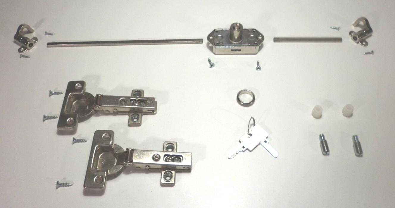 Costruiamo i mobili la serratura ad aste rotanti - Mobile con serratura ...