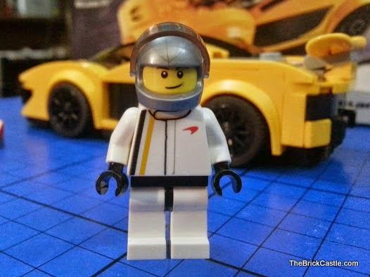 LEGO Speed Champions McLaren P1 set 75909 racing driver