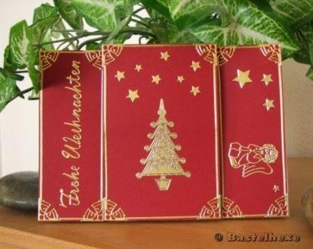 bastelhexe 39 s kreativecke weihnachts aufstellkarte. Black Bedroom Furniture Sets. Home Design Ideas