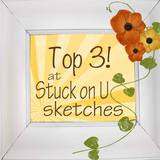 Stuck On You Dec. 5 Card Sketch Challenge ~ Top 3