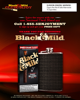 Free Flask From Black And Mild (Call-In)