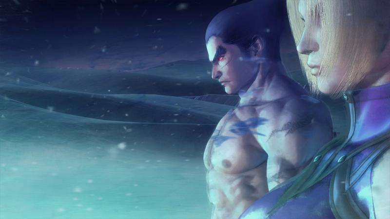 Tekken Kazuya CGI Movie SFxTK