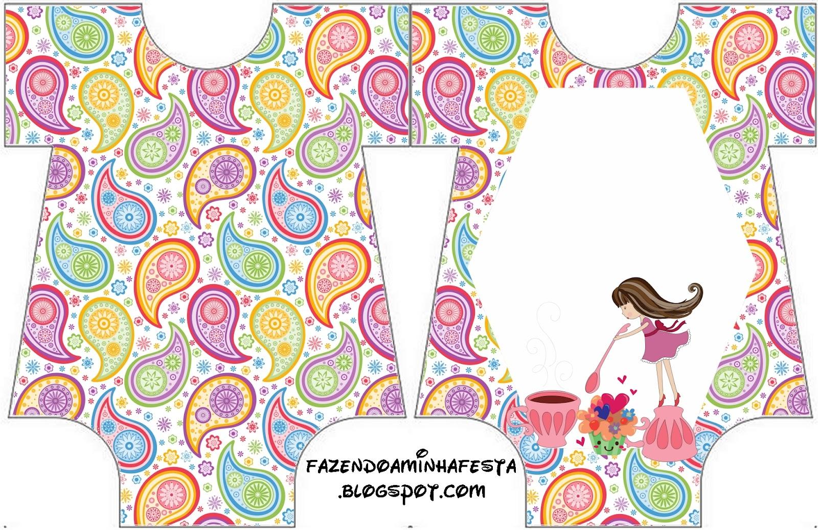 girls tea party  free printable invitations