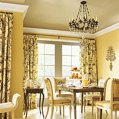 Light Yellow Dining Room