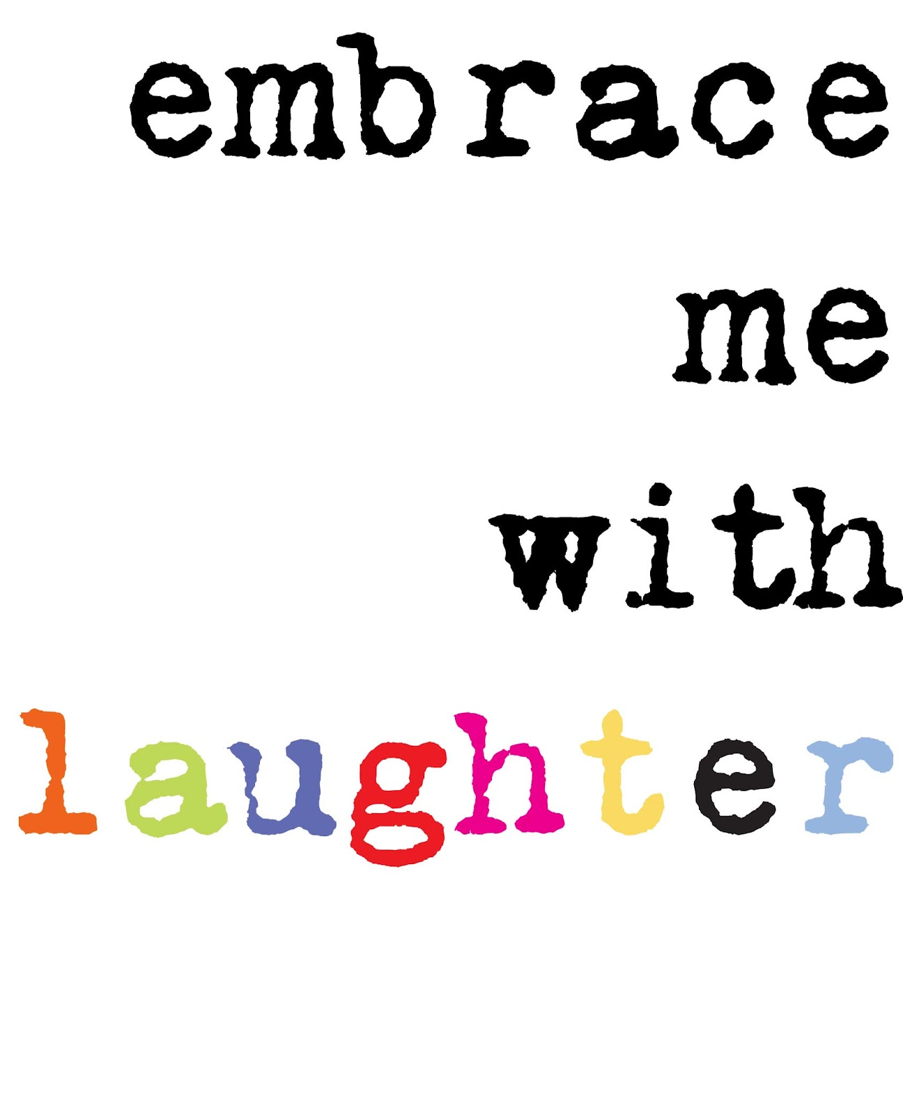 laughter word art - photo #13