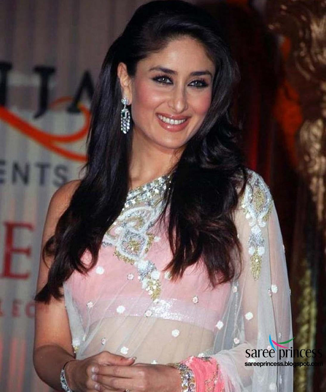 ra.one actress kareena kapoor dazzling hot in saree stills