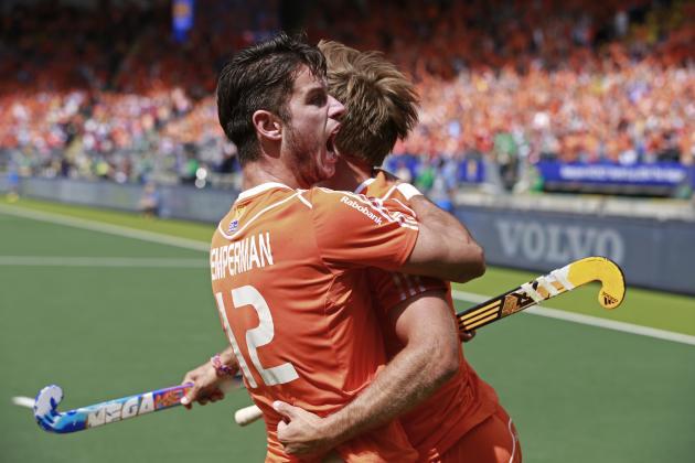 HOCKEY HIERBA - Campeonato de Europa masculino 2015 (Londres, Inglaterra). Holanda batió a los alemanes sin problemas y se cuelgan su 4º oro