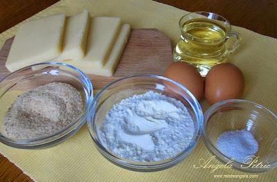 Preparare cascaval pane- etapa 1