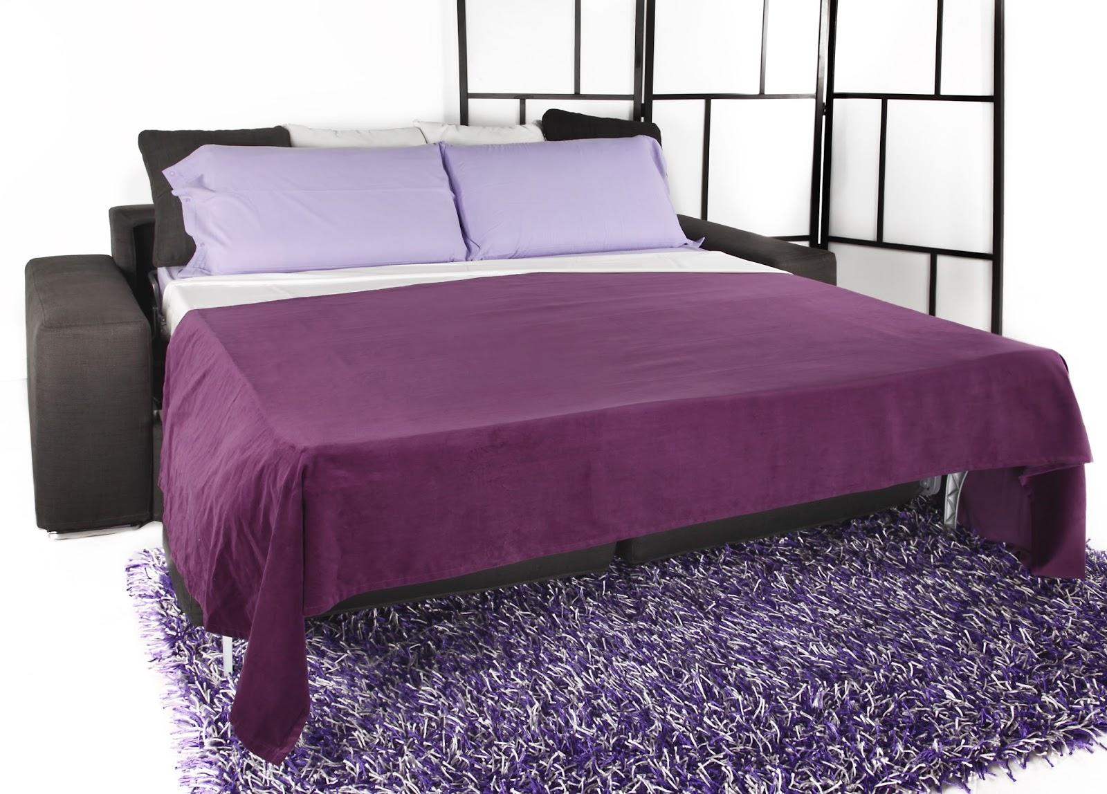 Divani blog tino mariani un bel divano un comodissimo - Divano letto aperto ...