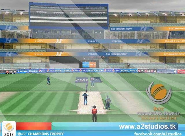 ICC Champions Trophy Patch 2013 - A2 Studios