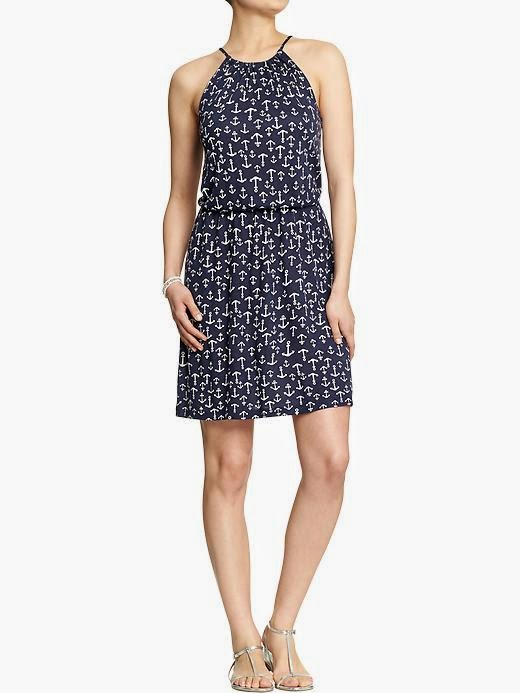 Old Navy anchor dress Spring 2014