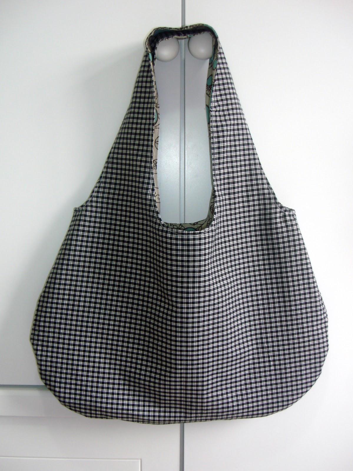 Bolsa De Tecido Linda : Arte de unir retalhos bolsa tecido revers?vel