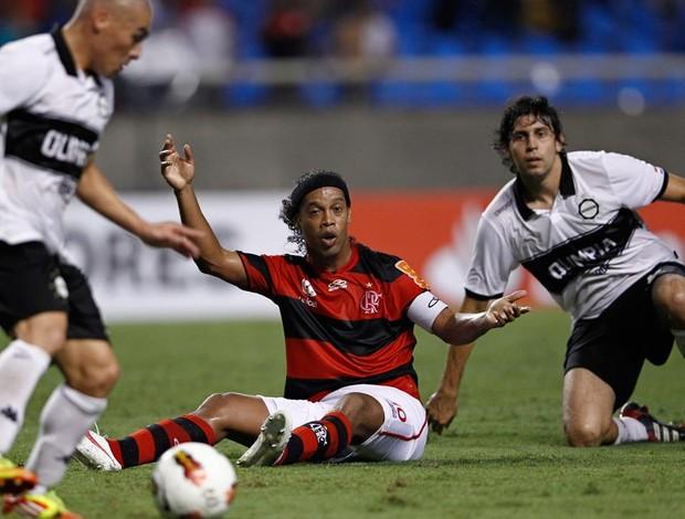 Flamengo 3 x 3 Olimpia pela Libertadores 2012