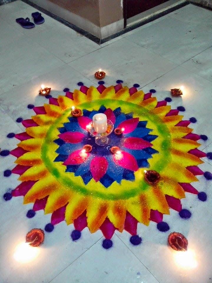 Rangoli Diwali Collection 2014 2