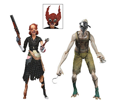 NECA Bioshock Lady Splicer & Crawler Exclusive 2-Pack