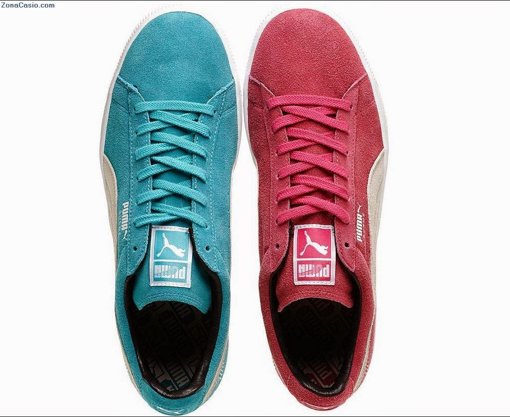 puma zapatillas dos colores