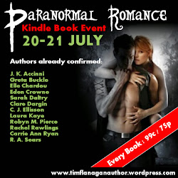Paranormal Romance Kindle Book Event!