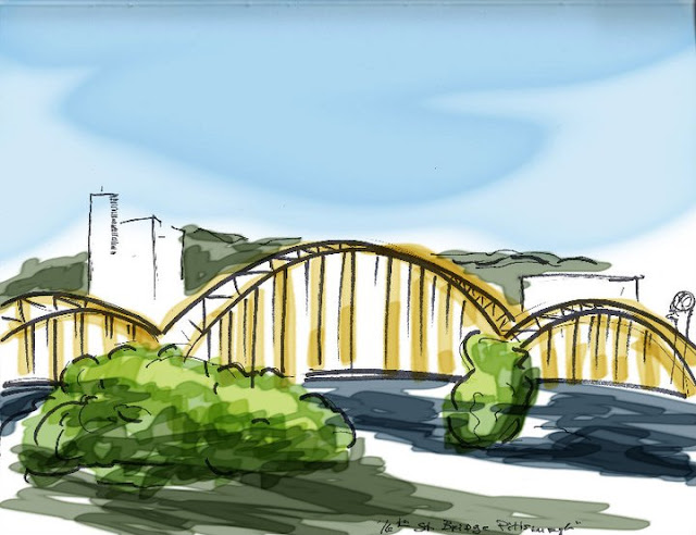 pittsburgh sketch