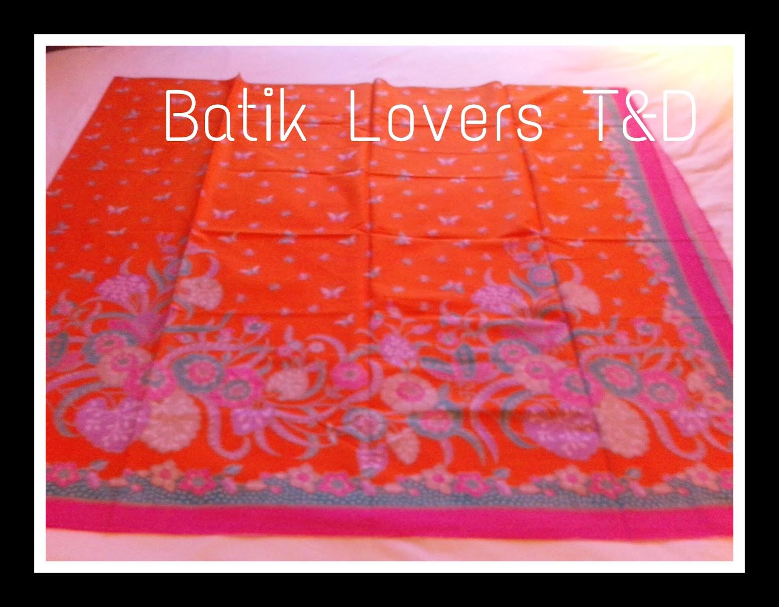 Batiks Lovers T&D : Maret 2014