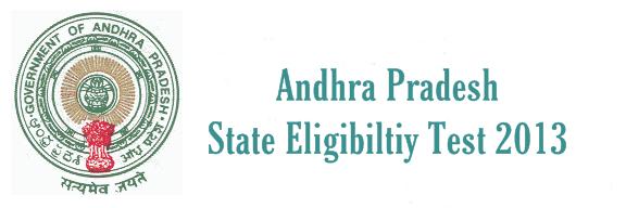Andhra Pradesh State Eligibility Test (AP.SET) 2013 notice