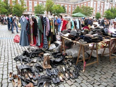 Mercado Pulgas Marolles, Bruselas