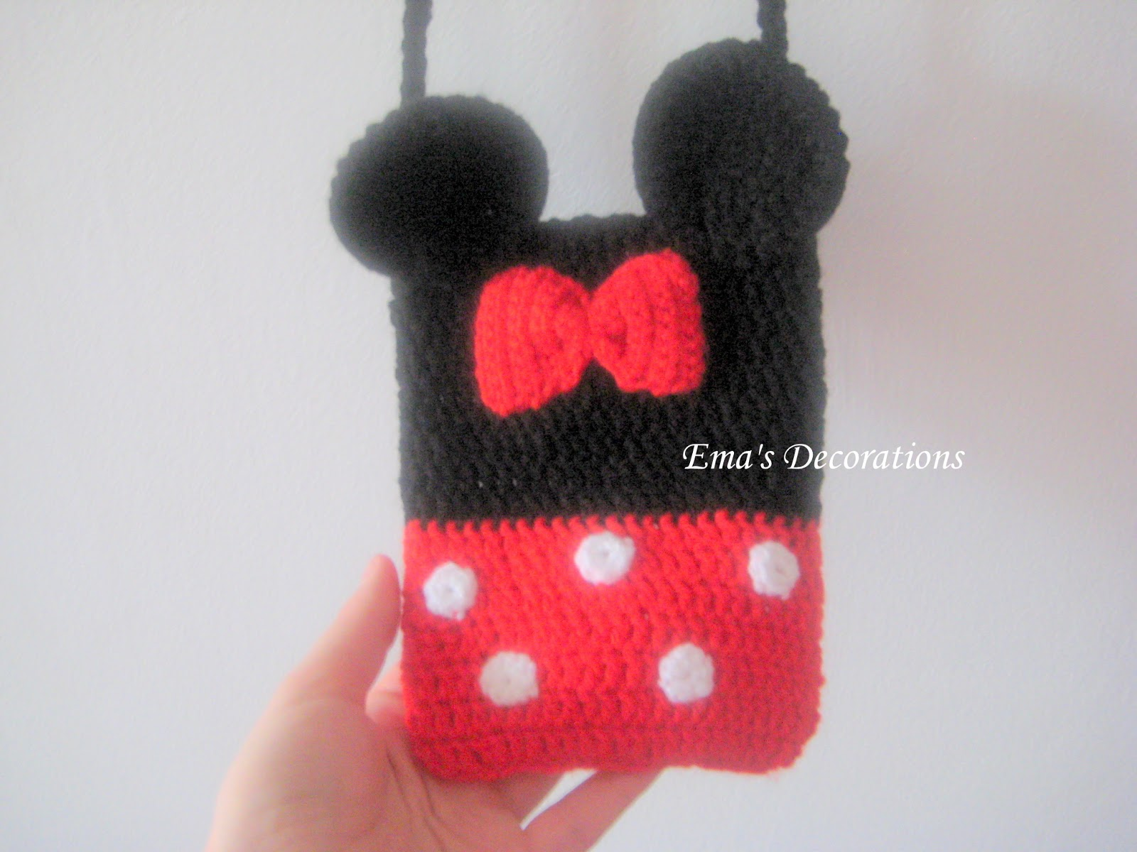 Ema decorations minnie mouse crochet bag minnie mouse crochet bag bankloansurffo Choice Image