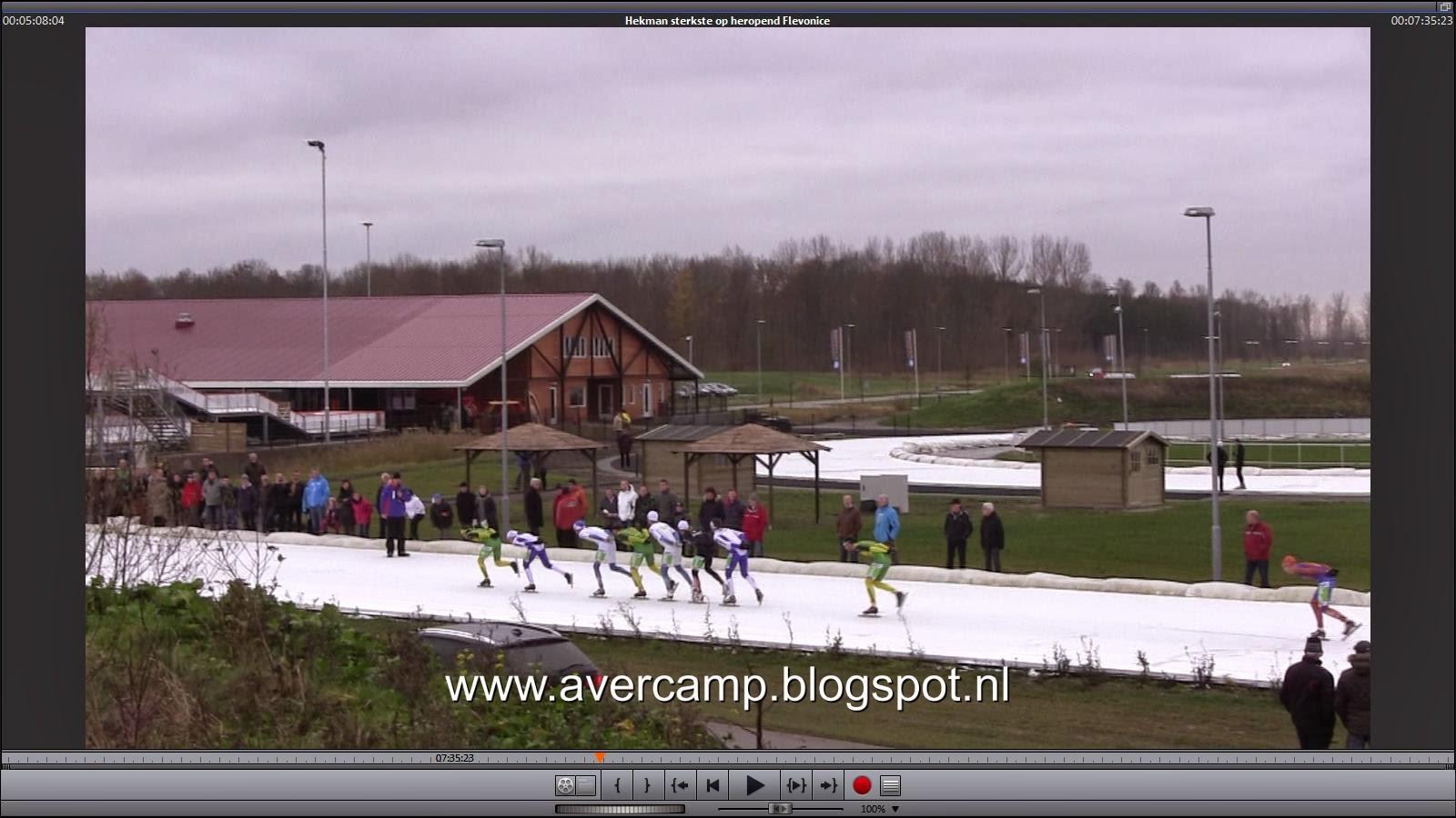 Op Flevonice worden marathonschaatsers groot
