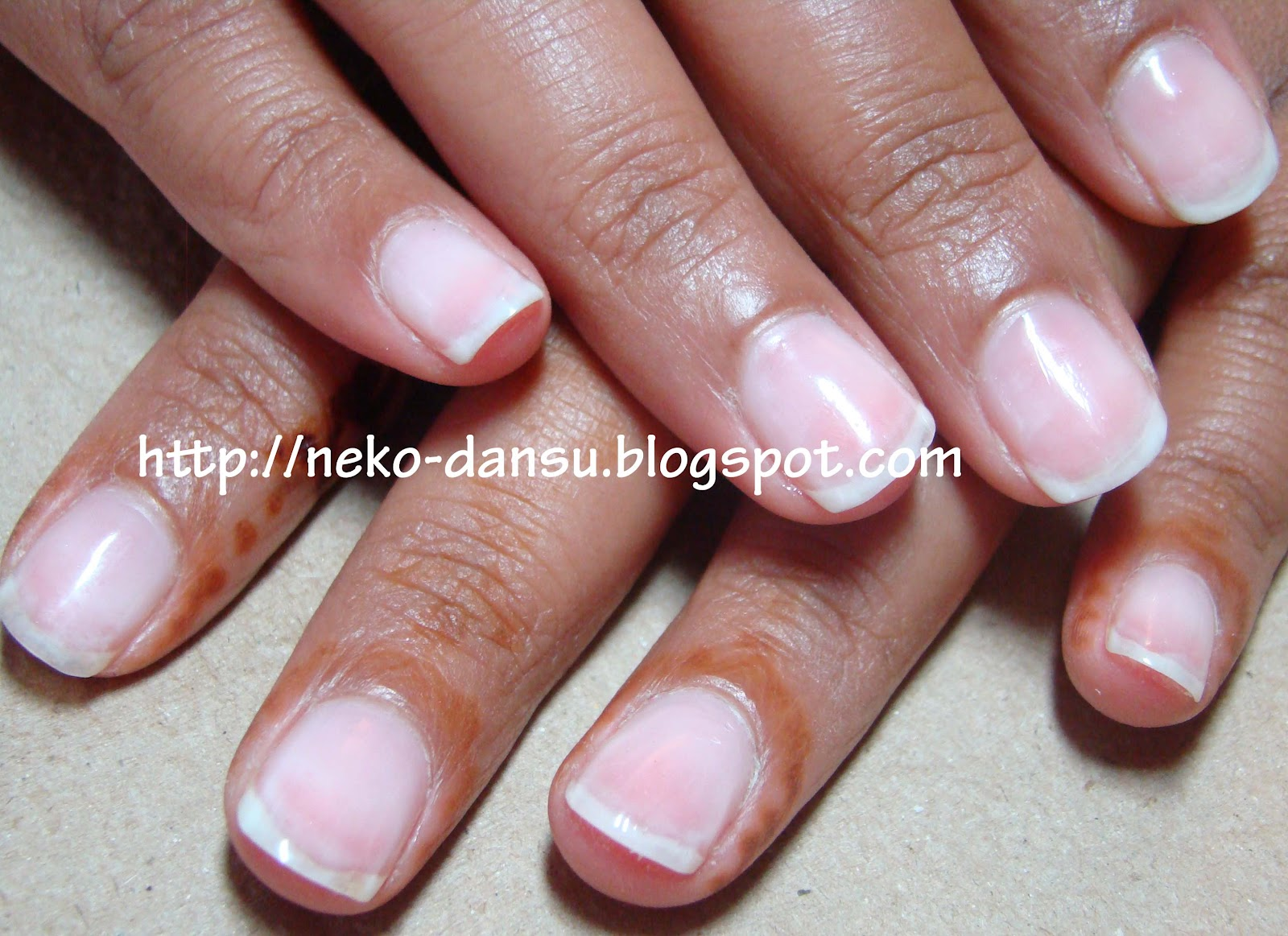 Neko-dansu\'s Nails: UV Gel Clear Overlay