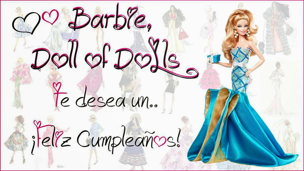 Gracias Barbie Doll of Dolls!!!