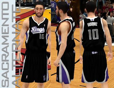 NBA 2K13 Sacramento Kings Alternate Jersey
