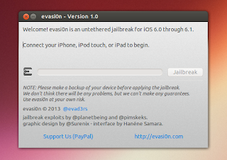 evasi0n ios jailbreak tool Linux