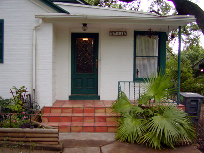 Mad For Mid Century Our Atomic Ranch Front Porch Through