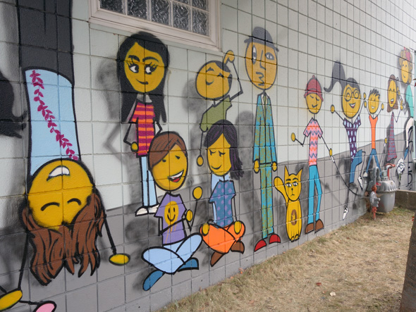 "Bauer Family Resources Mural: ""PLAY"""
