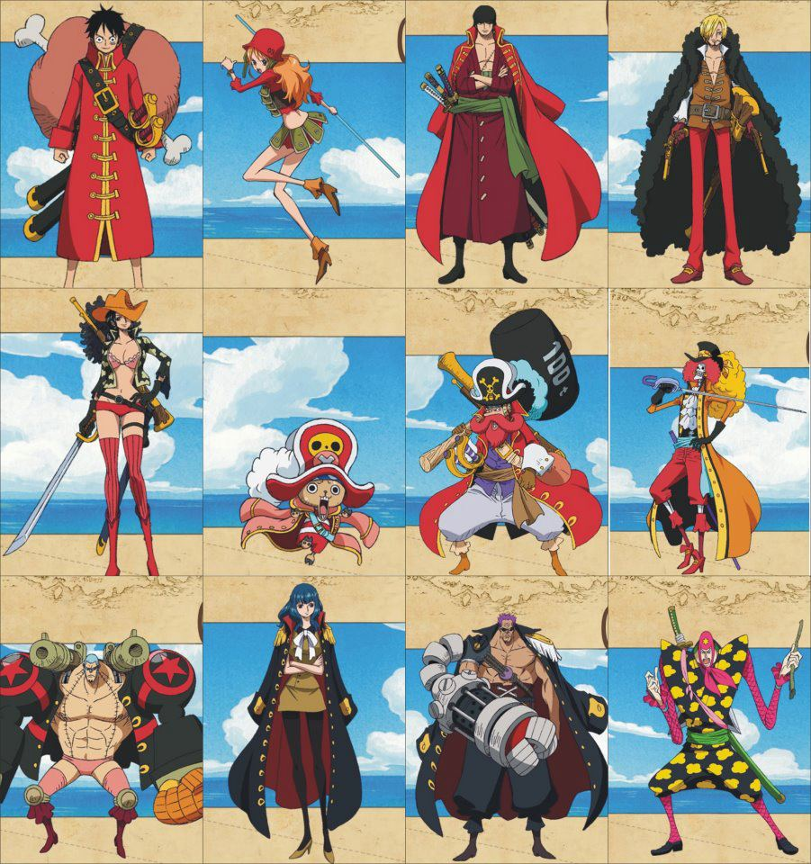 Ichi x ruki fans one piece film z character s clothes
