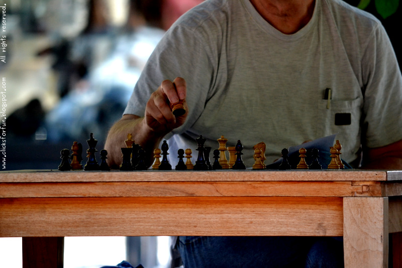 Man Playing Chess Learning Photography Blog