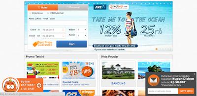 website penyedia voucer diskon hotel
