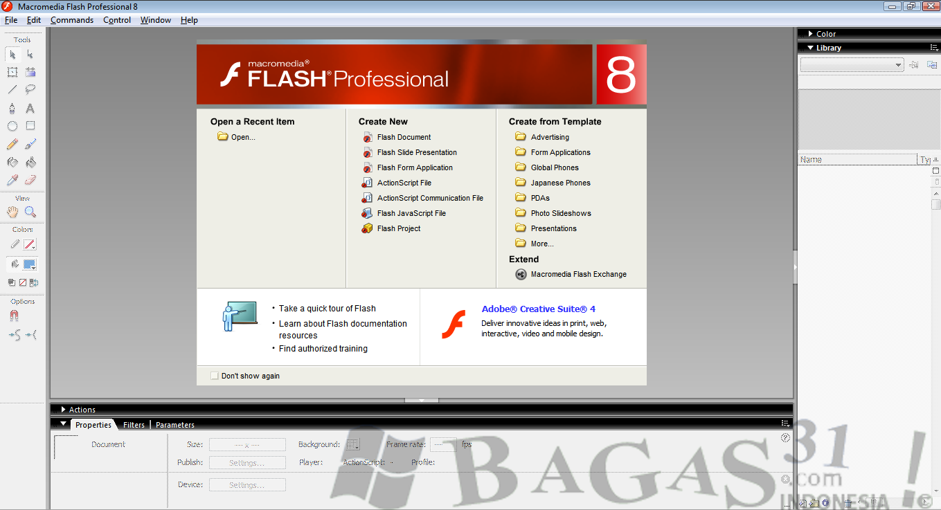 Macromedia Flash Professional 8 Full Keygen - BAGAS31.com
