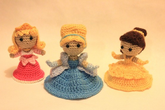 Free Crochet Disney Amigurumi Patterns : Varietats: Disney Princess by Crochet