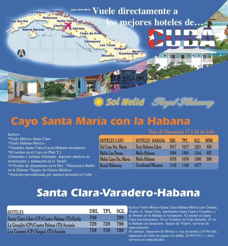 Vuelos internos de Cuba