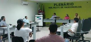 Reunião da Câmara de Baraúna aconteceu nesta quarta-feira (04); Veja o que esteve em pauta