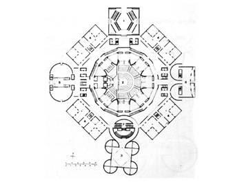 Kahn luce forma struttura das andere for Struttura del parlamento