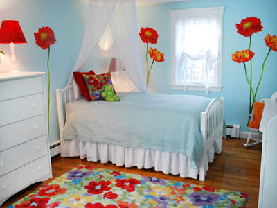 Home and garden kids room paint ideas colour combination - Kids room wall paint ideas ...
