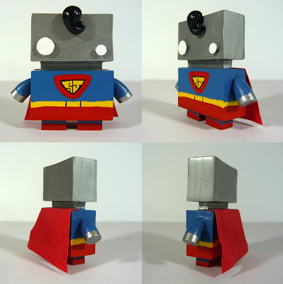 New York Comic-Con 2012 Exclusive Superman Jelly Bot Resin Figure by The Jelly Empire