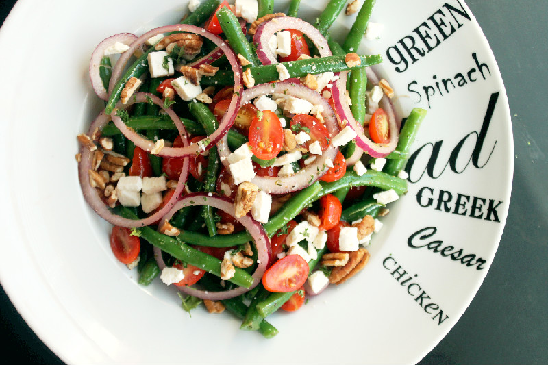 21 Day Detox with a Green Bean Salad, Toasted Pecans, Feta and Lemon ...