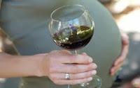 الحمل والكحول