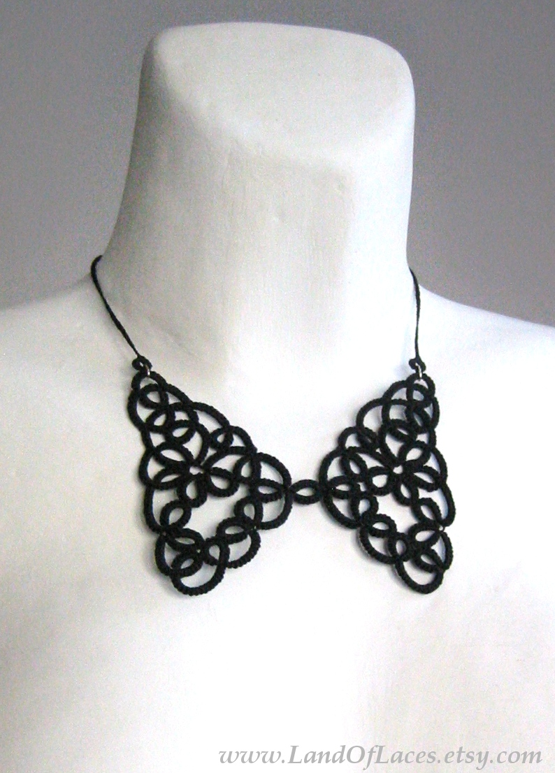 https://www.etsy.com/listing/210580668/black-lace-collar-necklace-tatted-lace