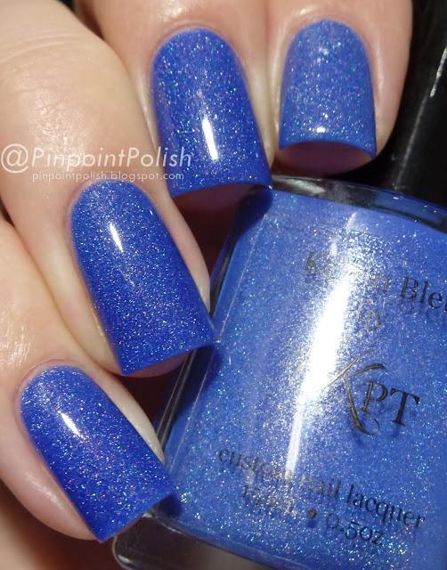 Kelvin Blue, Polished By KPT, swatch