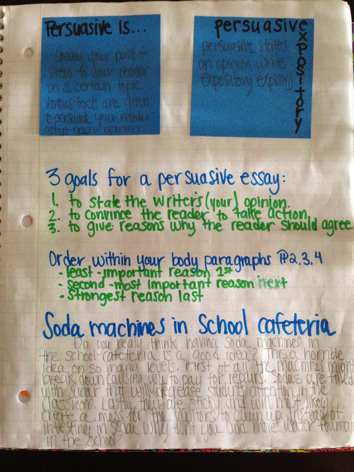 persuasive essays soda My persuasive essay gulp gulp i just can't get enough of this delicious soda it is good anywhere at the house, in the car, or at the store, yum.