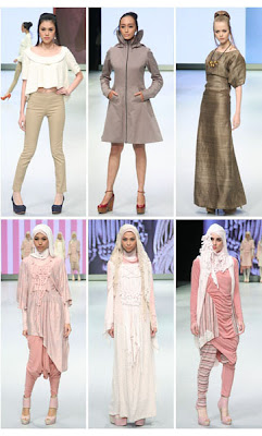 Muslim Clothing Ready-To-Wear Jenny Tjahyawati & Feminine style Ria Miranda